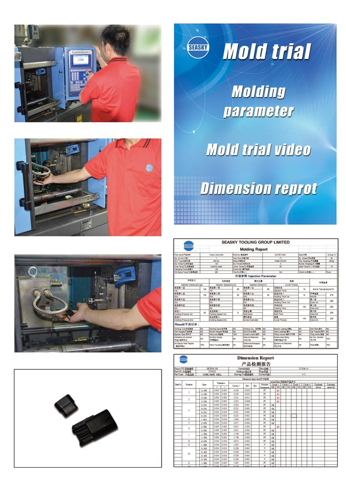 Plastic injection molding report